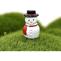 yedream 10pcs樹脂雪だるま形状ミニチュアポット盆栽クラフトマイクロ風景DIYクラフトミニガーデンデコレーション用