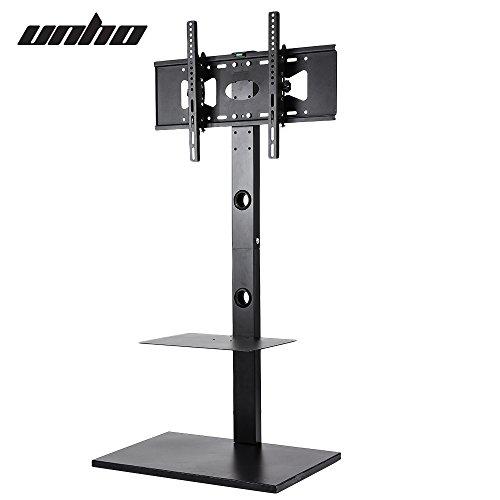 UNHO テレビスタンド 壁寄せ TVスタンド 32-65インチ対応 テレビ台 棚付き ハイタイプ ...