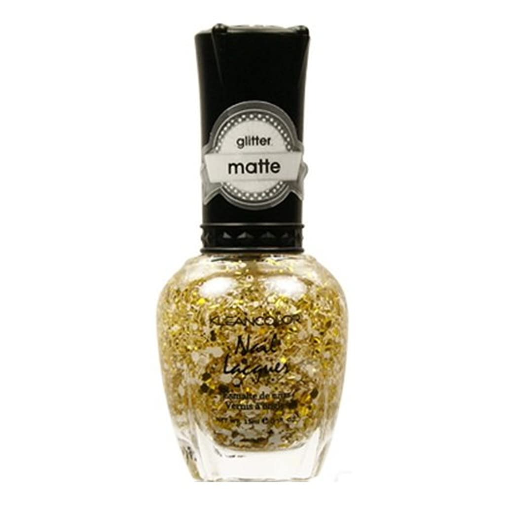 生む歌う規制(6 Pack) KLEANCOLOR Glitter Matte Nail Lacquer - Everyday is My Birthday (並行輸入品)