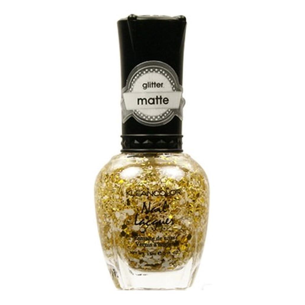 体現する滝瀬戸際(3 Pack) KLEANCOLOR Glitter Matte Nail Lacquer - Everyday is My Birthday (並行輸入品)