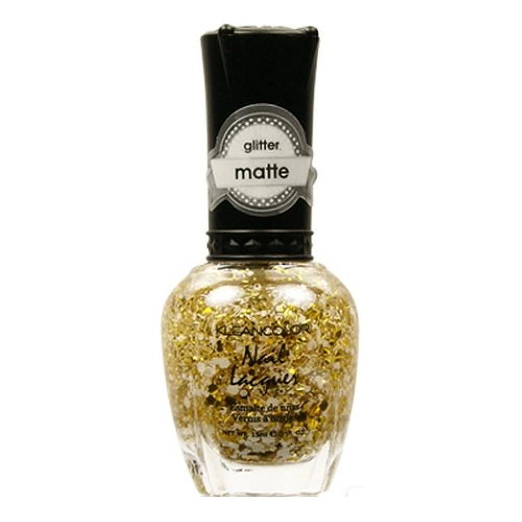 賞賛窓ハードリング(6 Pack) KLEANCOLOR Glitter Matte Nail Lacquer - Everyday is My Birthday (並行輸入品)