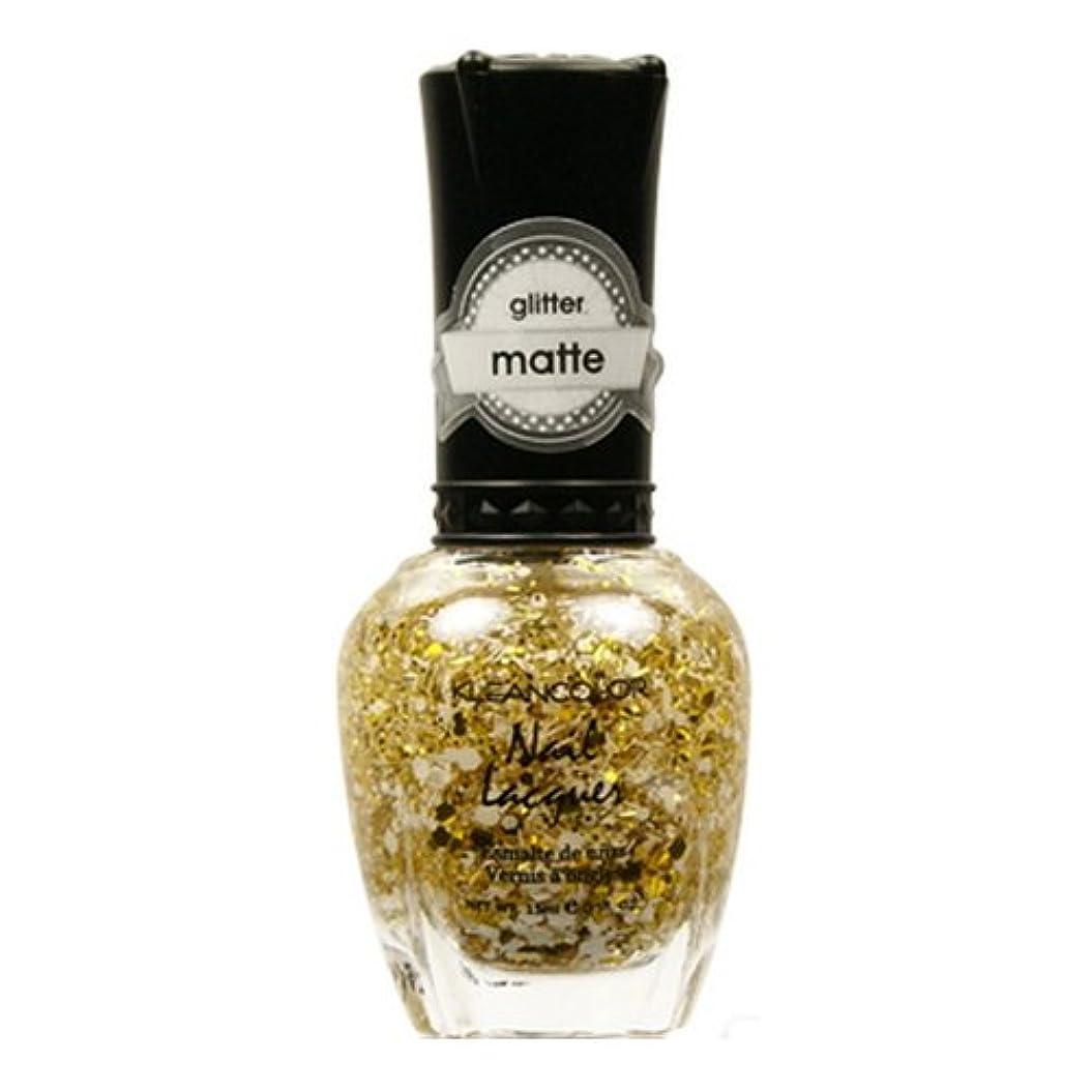 またはインタフェースこだわり(3 Pack) KLEANCOLOR Glitter Matte Nail Lacquer - Everyday is My Birthday (並行輸入品)