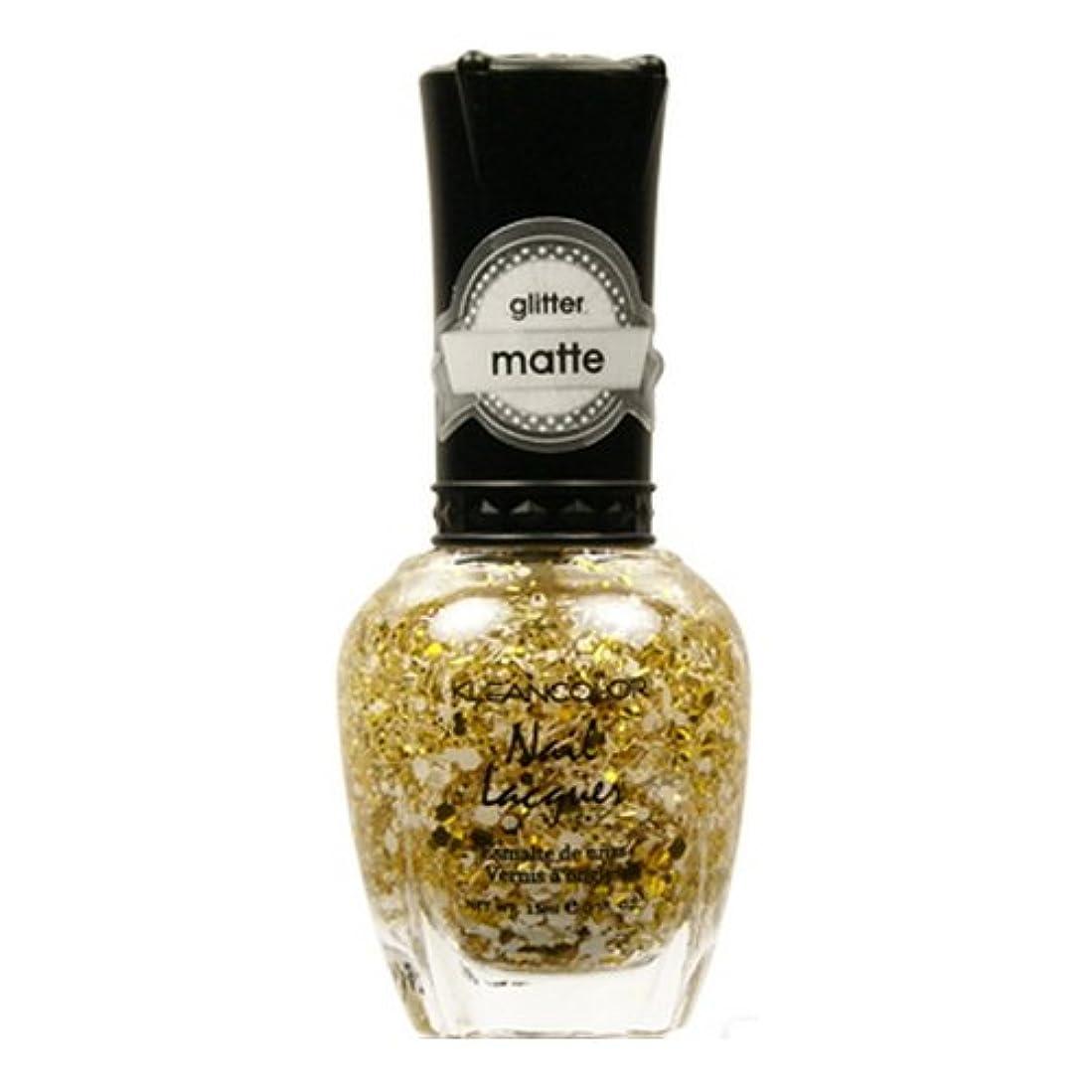 過半数誓約アジャKLEANCOLOR Glitter Matte Nail Lacquer - Everyday is My Birthday (並行輸入品)