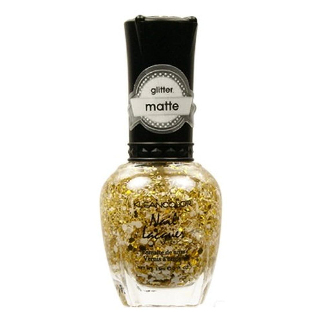 証明書無数のスーツ(3 Pack) KLEANCOLOR Glitter Matte Nail Lacquer - Everyday is My Birthday (並行輸入品)