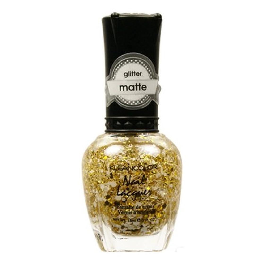 証拠権利を与える建てるKLEANCOLOR Glitter Matte Nail Lacquer - Everyday is My Birthday (並行輸入品)