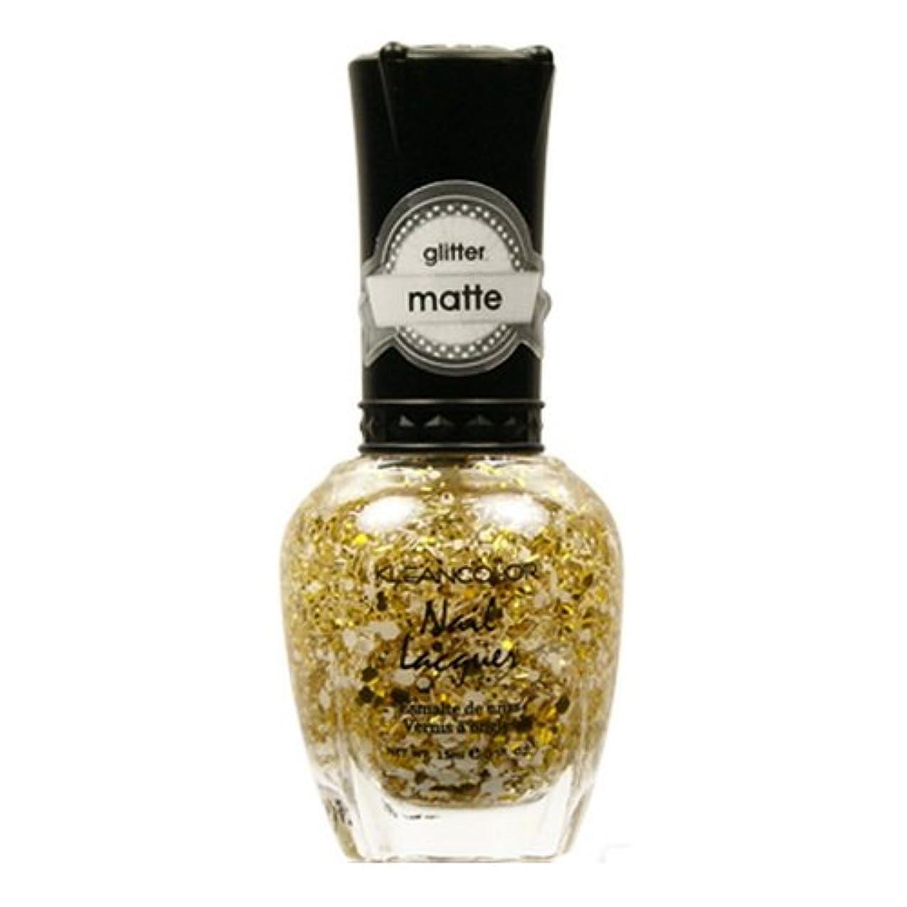 近所のインフレーション付き添い人(3 Pack) KLEANCOLOR Glitter Matte Nail Lacquer - Everyday is My Birthday (並行輸入品)