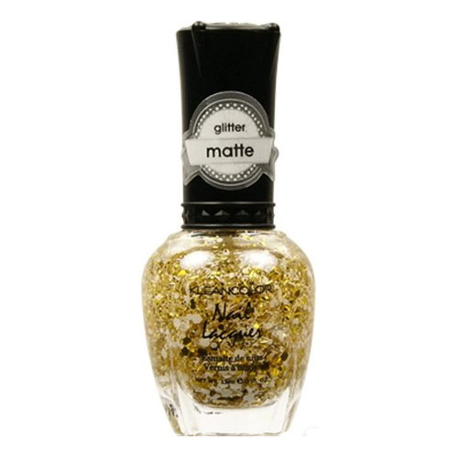 (3 Pack) KLEANCOLOR Glitter Matte Nail Lacquer - Everyday is My Birthday (並行輸入品)