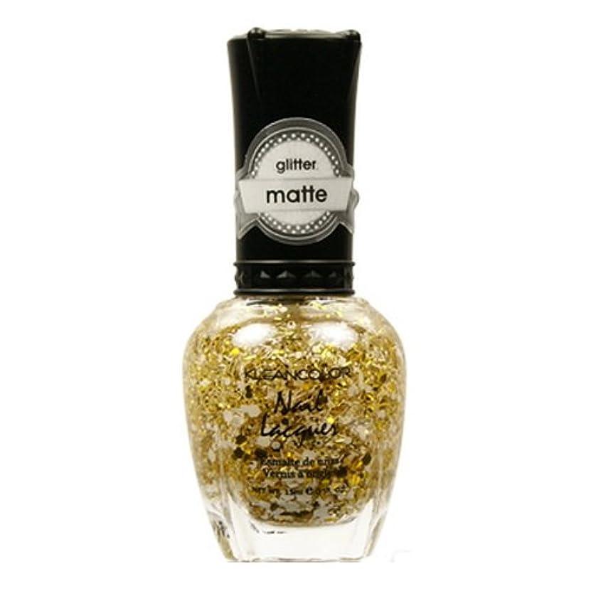 バイオリン太鼓腹アレキサンダーグラハムベル(6 Pack) KLEANCOLOR Glitter Matte Nail Lacquer - Everyday is My Birthday (並行輸入品)