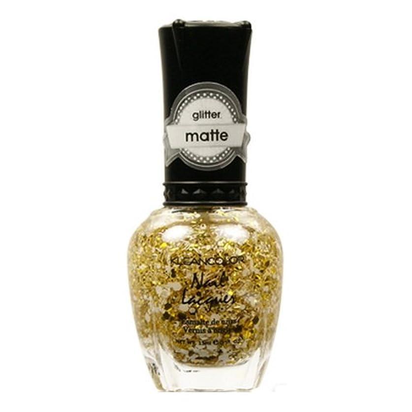 ジョイント女の子広い(6 Pack) KLEANCOLOR Glitter Matte Nail Lacquer - Everyday is My Birthday (並行輸入品)