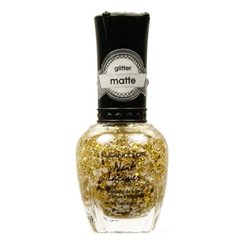 フレッシュ有効化組み立てる(6 Pack) KLEANCOLOR Glitter Matte Nail Lacquer - Everyday is My Birthday (並行輸入品)