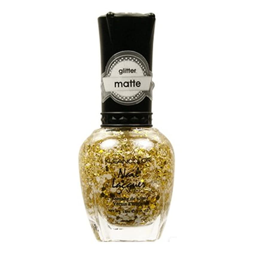 予見する西余計なKLEANCOLOR Glitter Matte Nail Lacquer - Everyday is My Birthday (並行輸入品)