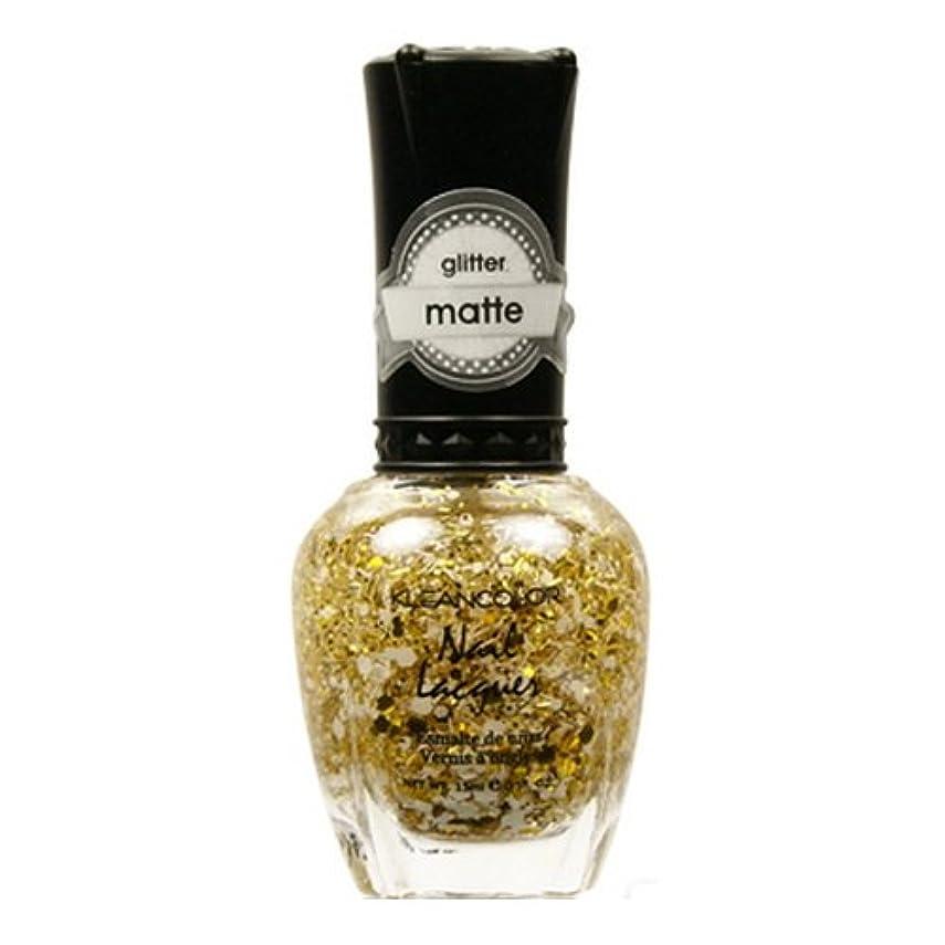 拡声器チェリー相関する(3 Pack) KLEANCOLOR Glitter Matte Nail Lacquer - Everyday is My Birthday (並行輸入品)