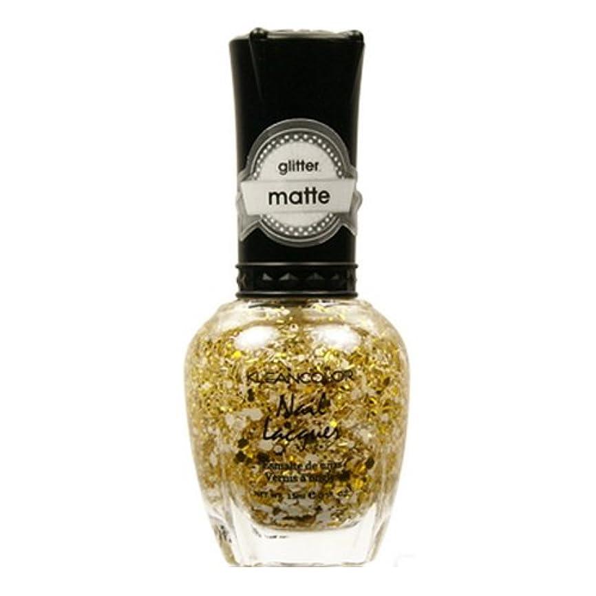 油戦う除去(3 Pack) KLEANCOLOR Glitter Matte Nail Lacquer - Everyday is My Birthday (並行輸入品)