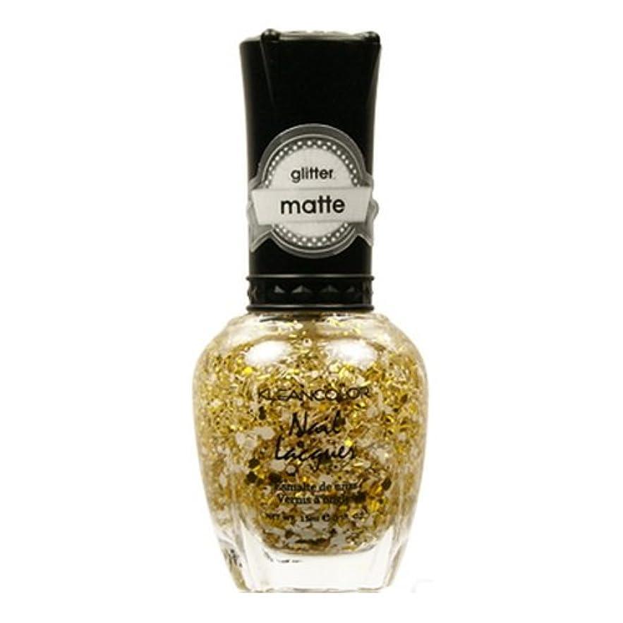 穿孔するお香血まみれのKLEANCOLOR Glitter Matte Nail Lacquer - Everyday is My Birthday (並行輸入品)