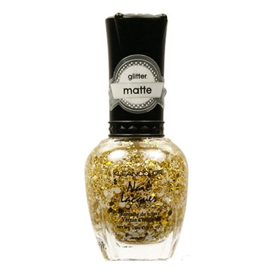 モンキー灌漑矛盾(3 Pack) KLEANCOLOR Glitter Matte Nail Lacquer - Everyday is My Birthday (並行輸入品)