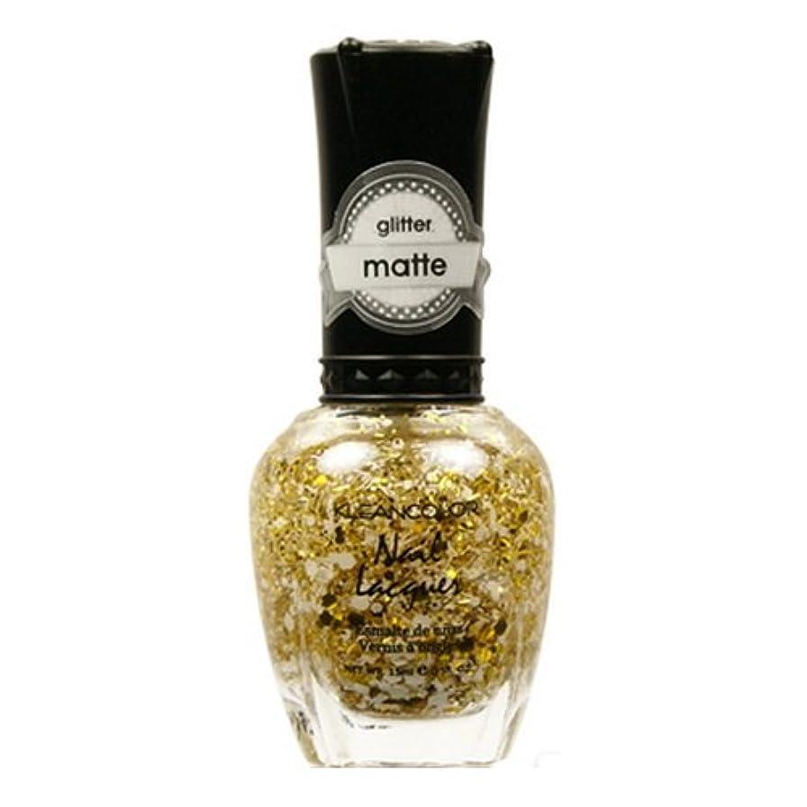 雪の交渉する騙すKLEANCOLOR Glitter Matte Nail Lacquer - Everyday is My Birthday (並行輸入品)