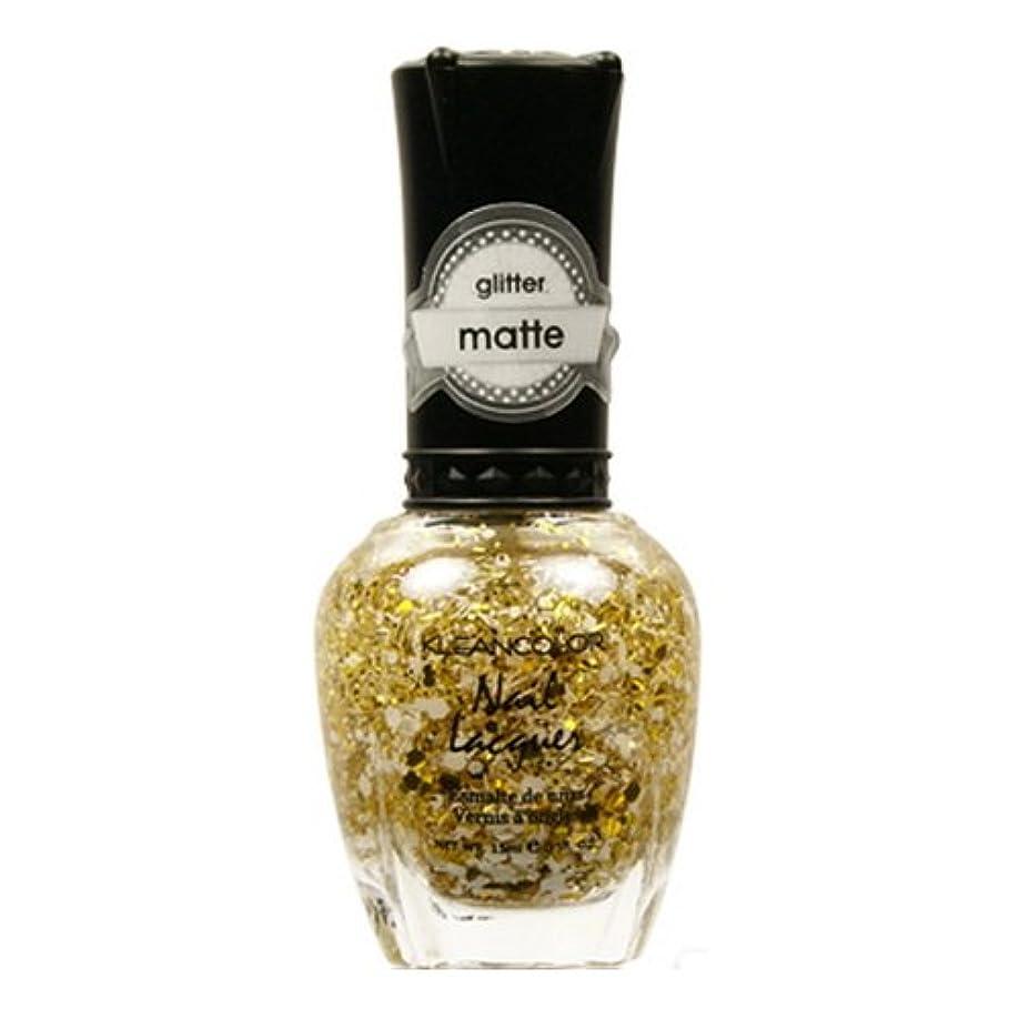 不幸価値ワイヤーKLEANCOLOR Glitter Matte Nail Lacquer - Everyday is My Birthday (並行輸入品)