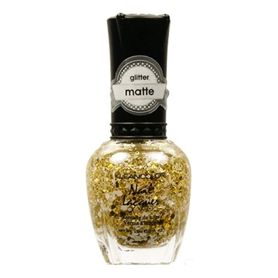 レッドデート評議会診断するKLEANCOLOR Glitter Matte Nail Lacquer - Everyday is My Birthday (並行輸入品)