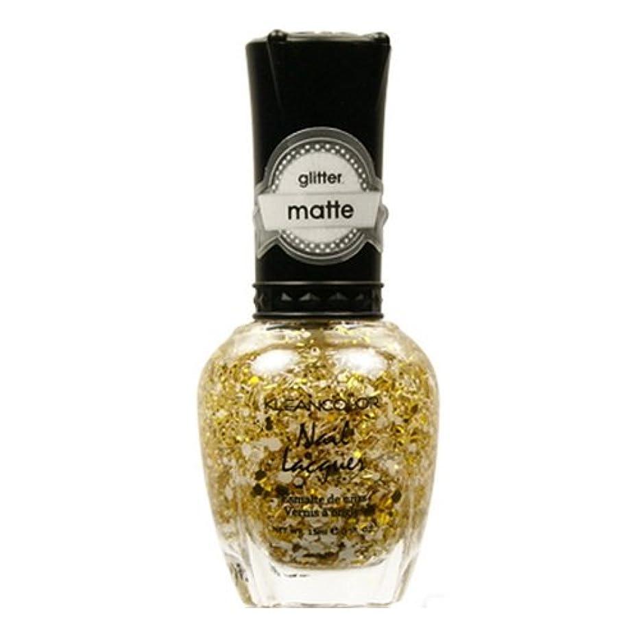 有毒な見かけ上活性化する(6 Pack) KLEANCOLOR Glitter Matte Nail Lacquer - Everyday is My Birthday (並行輸入品)