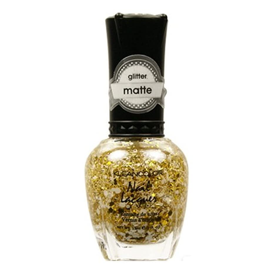 ホール運動カジュアルKLEANCOLOR Glitter Matte Nail Lacquer - Everyday is My Birthday (並行輸入品)