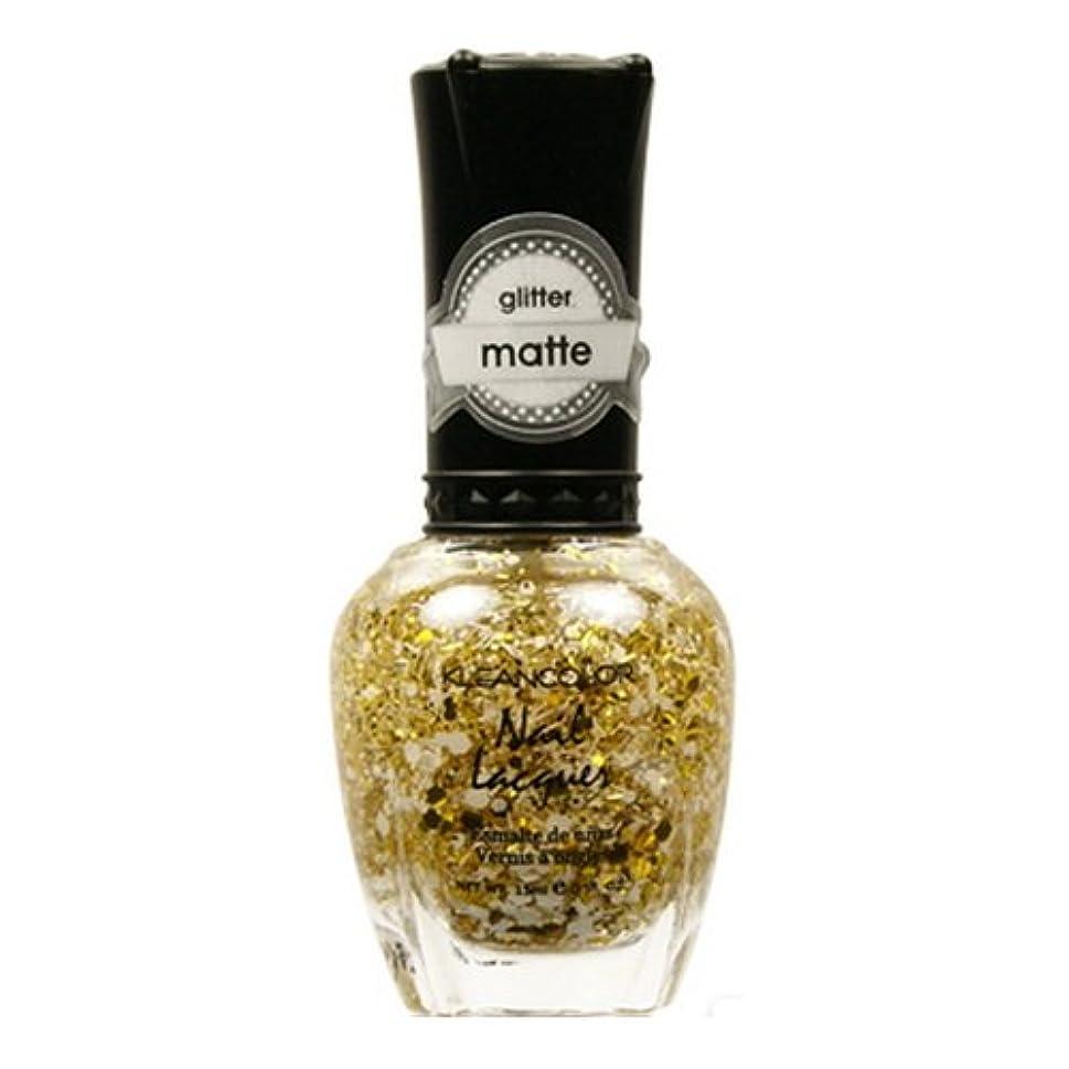 画家化学者所属(6 Pack) KLEANCOLOR Glitter Matte Nail Lacquer - Everyday is My Birthday (並行輸入品)