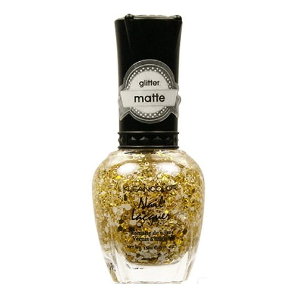 廃棄クラブ面白い(6 Pack) KLEANCOLOR Glitter Matte Nail Lacquer - Everyday is My Birthday (並行輸入品)