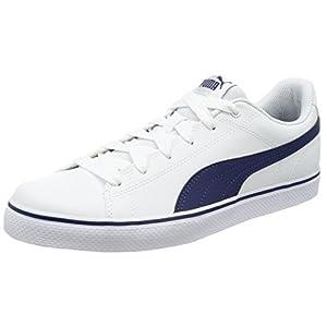 [プーマ] スニーカー Court Point Vulc v2 362946 ホワイト/ブルー デプス 27 cm