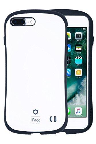 iPhone8Plus iPhone7Plus ケース 耐衝撃 iFace First Class ストラップホール 正規品 / ホワイト