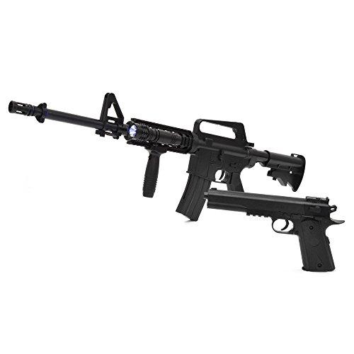 VERSOS エアーガンセット Colt1911モデル & M4 R.I.Sモデル ・・・