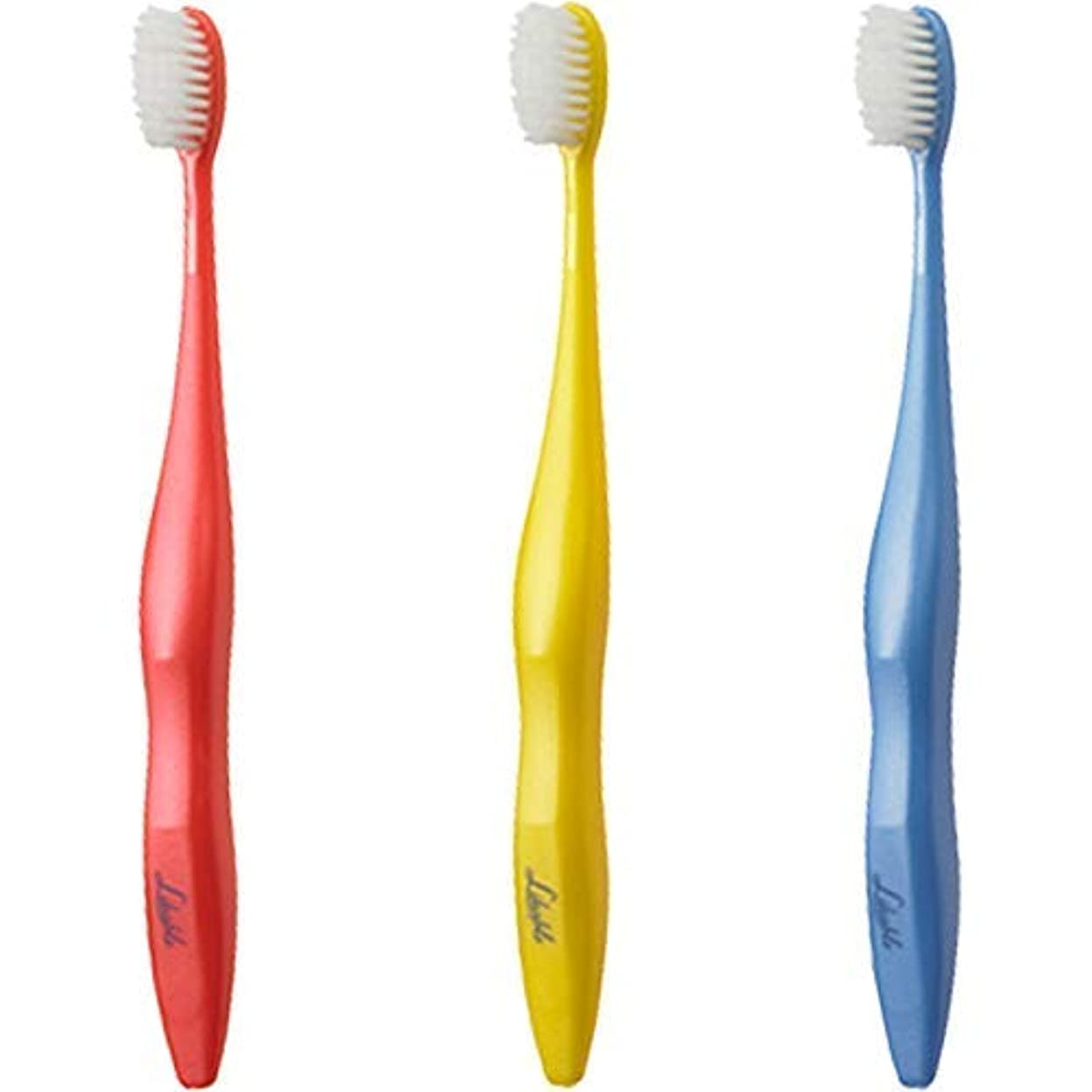 頻繁に悲劇呼び出すライカブル 歯ブラシ 3本セット 日本製 歯科専売