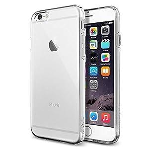 iPhone 6 ケース Spigen [ ソフト TPU ] Apple iPhone 4.7 (2014) カプセル (国内正規品) (クリスタル・クリア 【SGP10940】)