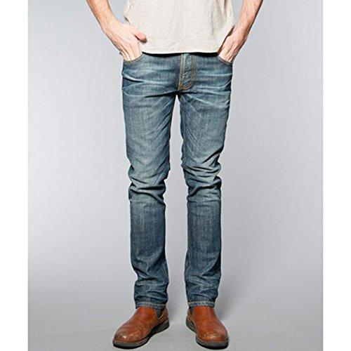 [ヌーディージーンズ] Nudie Jeans メンズ ジーンズ Thin Finn Dusk Indigo 305 1116440 W34 L32 (コード:4074096205-7-3)