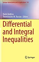 Differential and Integral Inequalities (Springer Optimization and Its Applications)