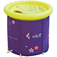 sunhai & Thickened折りたたみバスタブ大人用Bath Inflatable Bathtub Warmプラスチック子供Large 65*70cm Sunhai&