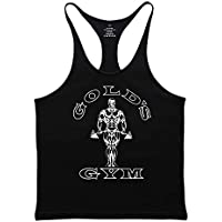 Slimbty Activewear Men's Gym Tank Tops Bodybuilding Stringer Singlet Workout Vest Cotton and Spandex