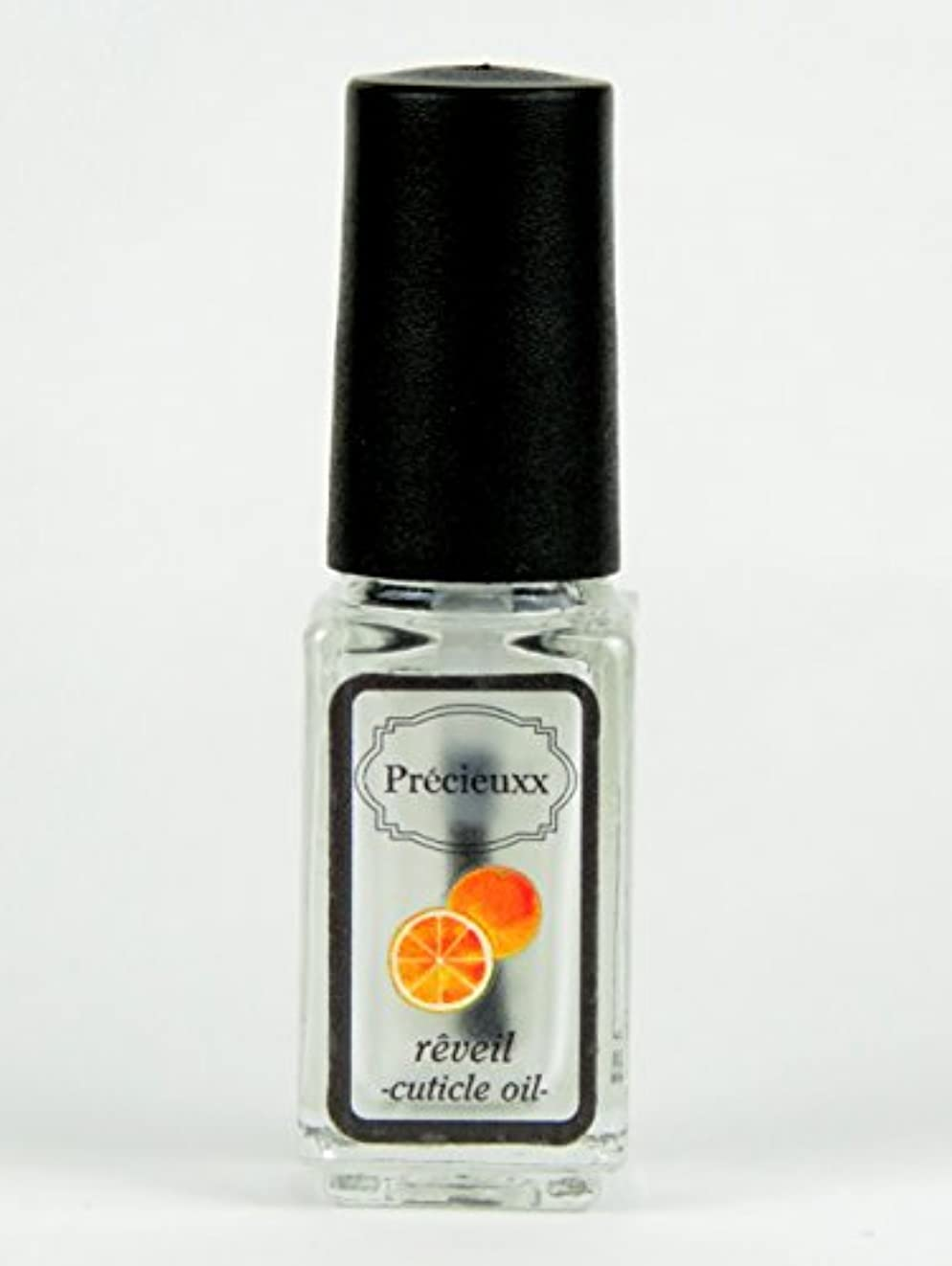 一掃するペチュランスリマークオーガニック ネイルオイル Precieuxx(プレシュー) ネイルアンドキューティクルボタニカルオイル 5ml オレンジ