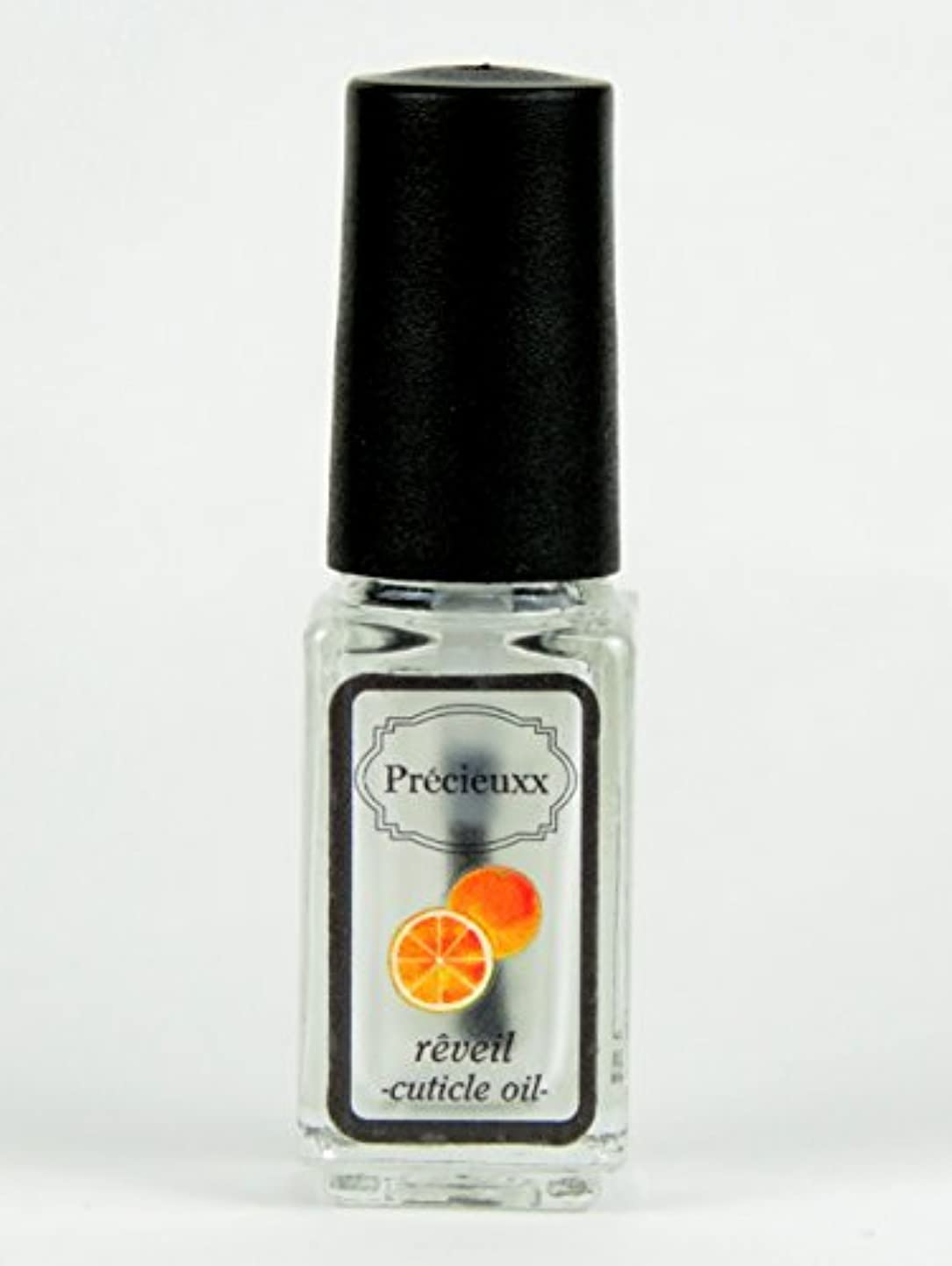 もつれ中古現在オーガニック ネイルオイル Precieuxx(プレシュー) ネイルアンドキューティクルボタニカルオイル 5ml オレンジ
