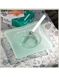 【アジア工房】バリ島の手作りガラス灰皿[10015] [並行輸入品]