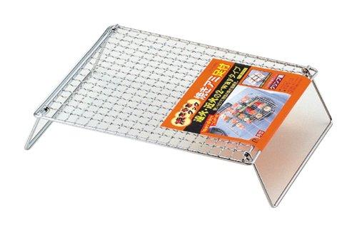 パール金属 焼き 網 足付 角型 焼きやきクック H-6563