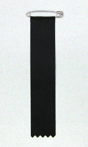 弔用リボン記章 ビラ 10枚セット 黒色
