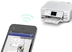 EPSON インクジェット複合機 Colorio EP-806AW ホワイト