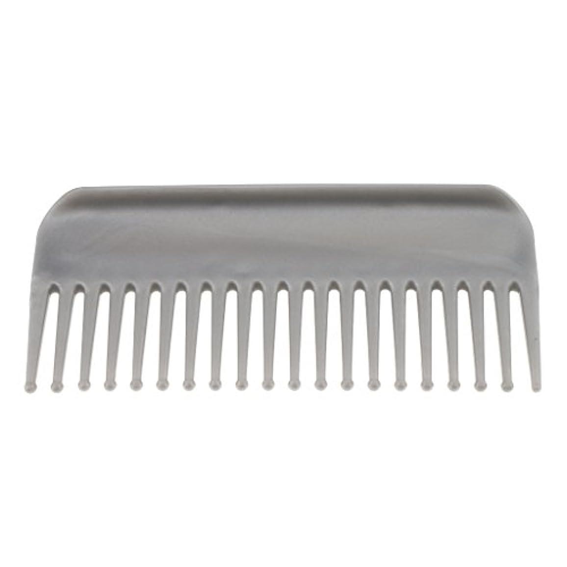 スキーム国民チケットInjoyo 6インイン広い歯の髪のもつれを取り除く櫛デタングラーヘアブラシスムースラウンドヒントウェットカーリーヘアーサロン用