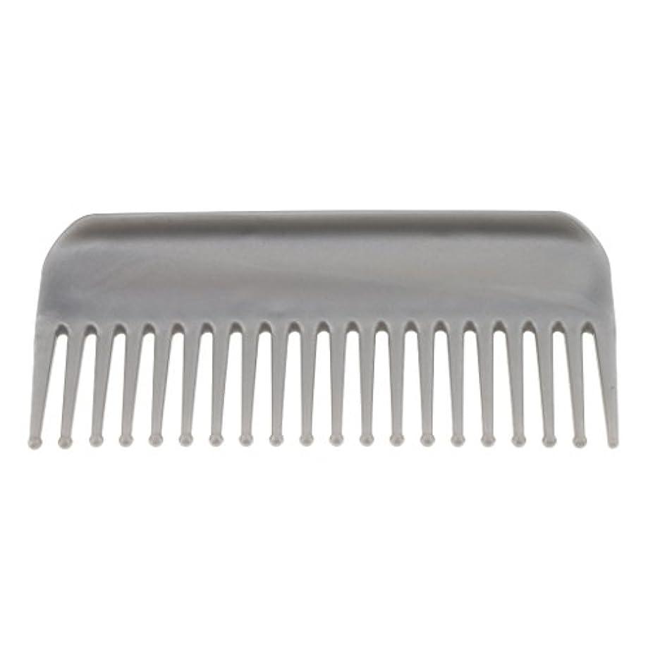 寛解フィッティングしばしばSharplace ヘアブラシ ヘアコーム コーム 櫛 くし 頭皮マッサージ 帯電防止 耐熱性 広い歯