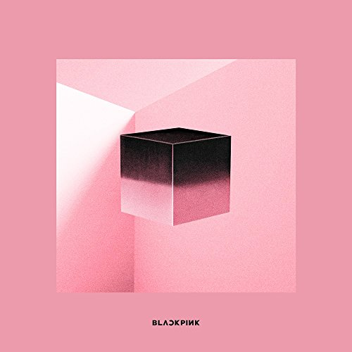 ブラックピンク - SQUARE UP [Pink ver.] (1st Mini Album) CD+Photobook+Renticular Lyrics+Postcard+Photocards+Double-Side Folded Poster [韓国盤]