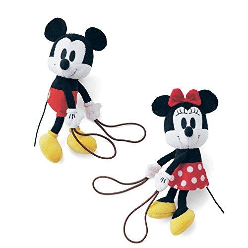 【Disney】ディズニー ぬいぐるみカーテンタッセル・2個セット ミッキー&ミニー