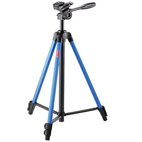 三脚 CV-3 BLUE 3段 レバーロック 脚径17mm 小型 3Way雲台付 クイックシュー対応 アルミ脚 300980