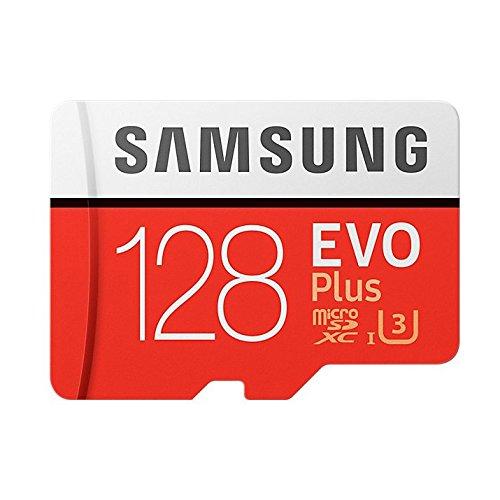 送料無料Samsung microSDXCカード 128GB EVO Plus Class10 UHS-I U3対応 (最大読出速度100MB/s:最大書込速度90MB/s) Nintendo S