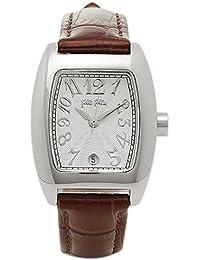 [フォリフォリ] Folli Follie レディース DEBUTANT トノーケース シルバー ブラウンレザー S922 brown 腕時計 [並行輸入品]