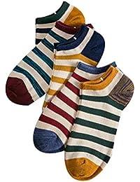 コットンアンクルソックスメンズコットンノーショーライナー夏の靴下5ペア(B)