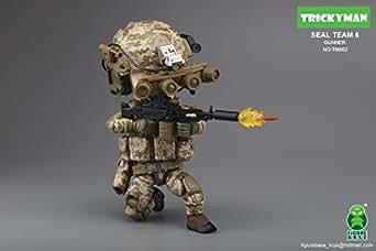FiGUREBASE (フィギュアベース) TM002 SEALs(シールズ) 6 TEAM GUNNER【特殊部隊 アクション フィギュア 可動フィギュアパーツ】